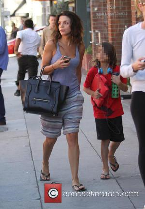 Vanessa Ferlito , Vince Ferlito - Vanessa Ferlito and her son Vince out in Beverly Hills - Los Angeles, California,...