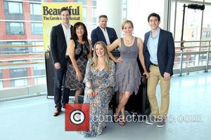 Carole King, Liam Tobin, Suzanne Grodner, Curt Bouril, Abby Mueller, Becky Gulsvig and Ben Fankhauser