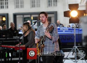 Hozier - Hozier performs on 'The One Show' at The BBC - London, United Kingdom - Tuesday 1st September 2015