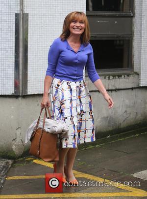 Lorraine Kelly - Lorraine Kelly outside ITV Studios - London, United Kingdom - Tuesday 1st September 2015