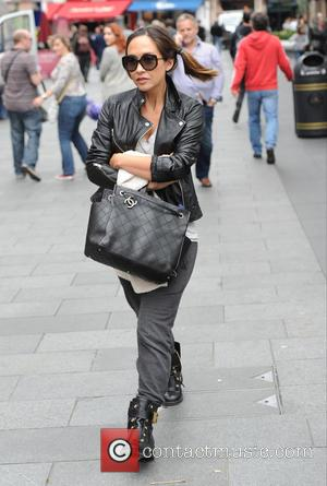 Myleene Klass - Myleene Klass seen out and about in London. Leaving smooth radio - London, United Kingdom - Tuesday...
