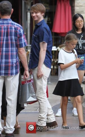 Calum Worthy - Calum Worthy shops at The Grove - Los Angeles, California, United States - Tuesday 1st September 2015