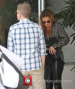 Cat Deeley , Patrick Kielty - Cat Deeley and husband Patrick Kielty visit E. Baldi restaurant in Beverly Hills -...