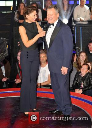 Paul Burrell and Emma Willis