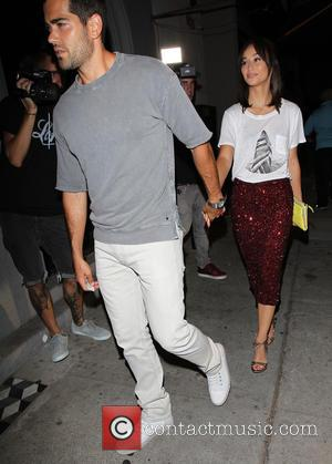 Jesse Metcalfe , Cara Santana - Celebrities dine at Craig's restaurant in Hollywood - Los Angeles, California, United States -...