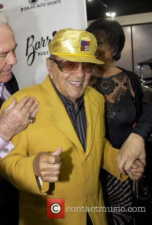 George Barris - 'King of the Kustomizers: The Art of George Barris' book signing - Arrivals at Galpin Auto Sports...