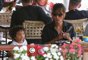Halle Berry and Maceo Martinez