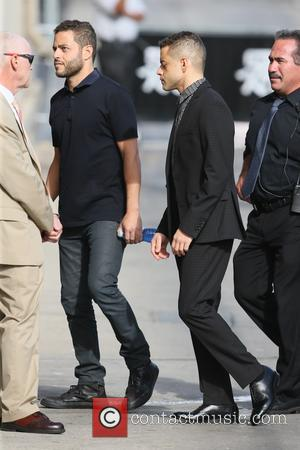 Rami Malek - Rami Malek seen arriving at ABC studios for Jimmy Kimmel Live! - Los Angeles, California, United States...