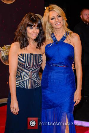 Claudia Winkleman , Tess Daly - 'Strictly Come Dancing 2015' TV series launch at Elstree Studios - Red Carpet Arrivals...