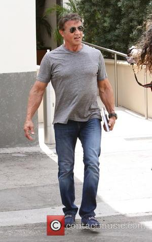 Sylvester Stallone - Sylvester Stallone leaves Cafe Roma - Beverly Hills, California, United States - Tuesday 1st September 2015