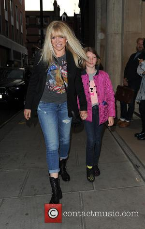 Jo Wood - Jeans for Genes Day 2015 launch party at Chinawhite - Outside at Chinawhite - London, United Kingdom...