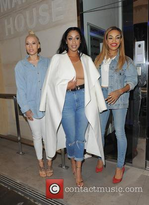 Stooshe - Jeans for Genes Day 2015 launch party at Chinawhite - Outside at Chinawhite - London, United Kingdom -...