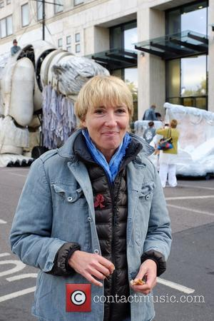 Emma Thompson - Greenpeace campaigners, including actress Emma Thompson, installed a animatronic polar bear the size of a double-decker bus...