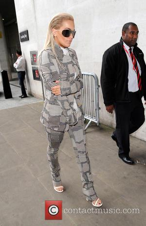 Rita Ora - Rita Ora arrives at BBC Radio 1 - London, United Kingdom - Wednesday 2nd September 2015