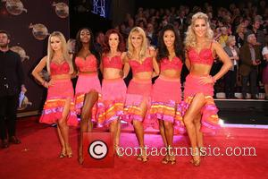 Ola Jordan, Aliona Vilani, Otlile Mabuse, Joanne Clifton , Karen Hauer. Natalie Lowe - 'Strictly Come Dancing 2015' TV series...