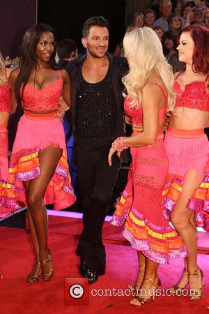Peter Andre , Kristina Rihanoff - 'Strictly Come Dancing 2015' TV series launch at Elstree Studios at Strictly Come Dancing...