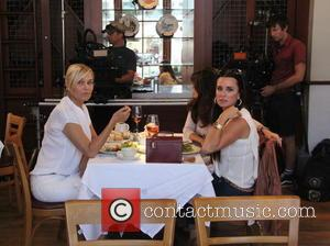 Yolanda Foster, Kim Richards and Lisa Vanderpump