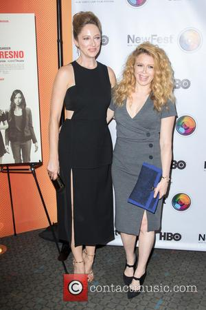 Judy Greer , Natasha Lyonne - New York premiere of 'Addicted to Fresno' - Arrivals at SVA Theatre - New...