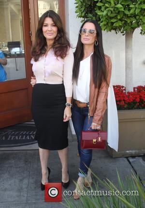 Lisa Vanderpump , Kyle Richards - 'The Real Housewives of Beverly Hills' stars Lisa Vanderpump and Kyle Richards seen leaving...