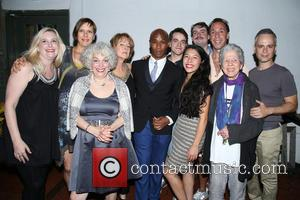 cast , creative team - Opening night party for