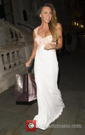 Michelle Heaton - The Inspiring Leadership Gala & Fashion Show - Departures - London, United Kingdom - Wednesday 2nd September...