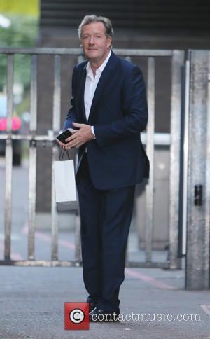 Piers Morgan - Piers Morgan outside ITV Studios - London, United Kingdom - Wednesday 2nd September 2015