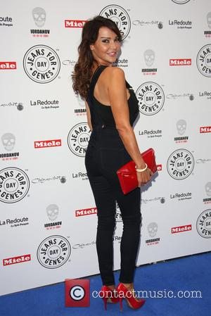 Lizzie Cundy - Jeans for Genes party held at Chinawhite - Arrivals at Chinawhite - Borehamwood, United Kingdom - Wednesday...