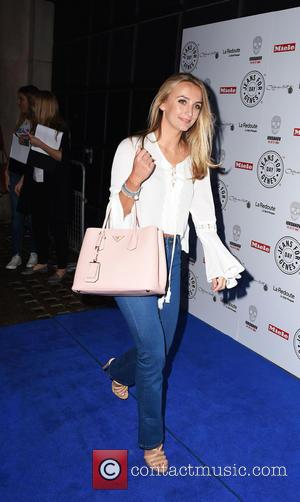 Tiffiny Watson - Jeans for Genes party held at Chinawhite - Outside Arrivals at Chinawhite - London, United Kingdom -...