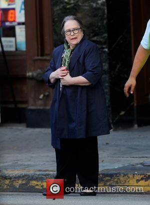 Kathy Bates - Magic Mike star Matt Bomer spotted on the set of 'American Horror Story Hotel' with co stars...