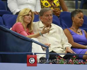 Tony Bennett , Susan Crow - 2015 US Open Tennis at the USTA Billie Jean King National Tennis Center -...