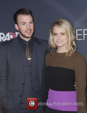 Chris Evans , Alice Eve - Los Angeles Premiere of 'Radius and G4 Productions' 'Before We Go' at ArcLight Cinemas...