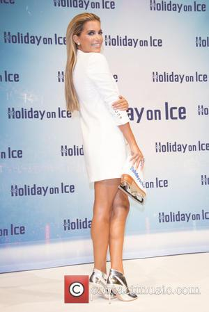 Sylvie Meis (van der Vaart) - Sylvie Meis is the new background voice of the new Show 'Holiday on Ice...