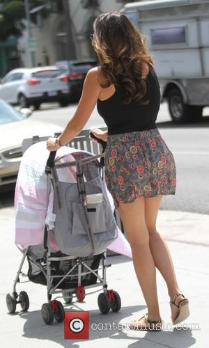 Tamara Ecclestone , Sophia Eccelstone-Rutland - Tamara Ecclestone taking a stroll with her husband Jay and daughter Sophia in Beverly...