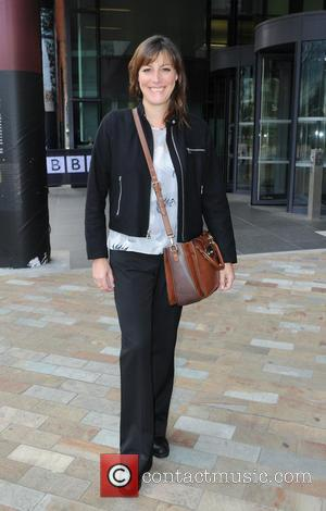 Rebecca Root - Celebrities leave the BBC Breakfast Studios at Media City, Manchester, - Manchester, United Kingdom - Thursday 3rd...