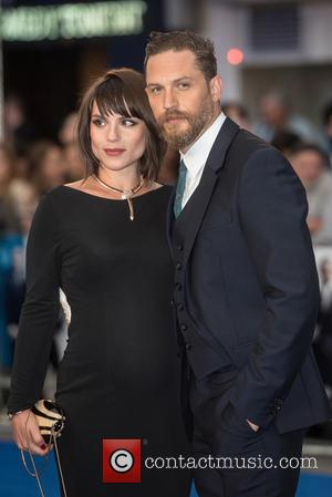 Tom Hardy , Charlotte Riley - 'Legend' UK film premiere held at the Odeon Leicester Square - Arrivals. at Odeon...