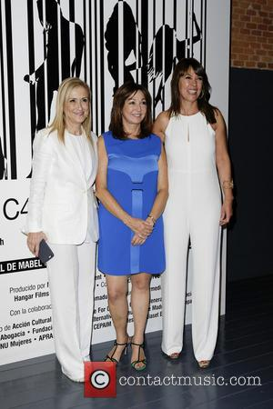 Cristina Cifuentes - Presentation of the documentary 'Girls new 24 Hours' directed by Mabel Lozano in Madrid - Madrid, Spain...