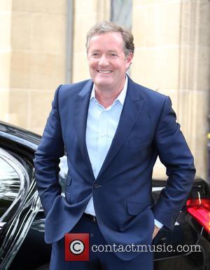 Piers Morgan - Piers Morgan outside ITV Studios - London, United Kingdom - Thursday 3rd September 2015