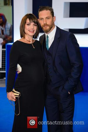 Charlotte Riley , Tom Hardy - The World  Premiere of 'Legend' held at the Odeon Leicester Square - Arrivals...