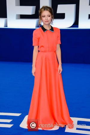 Emily Browning - The World  Premiere of 'Legend' held at the Odeon Leicester Square - Arrivals at Odeon Leicester...