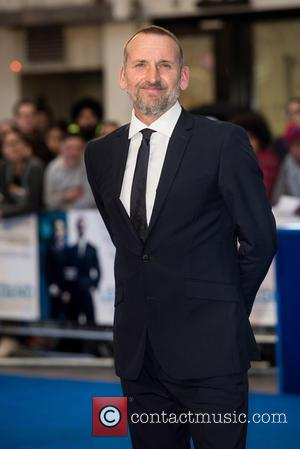 Christopher Eccleston - 'Legend' UK film premiere held at the Odeon Leicester Square - Arrivals at Odeon Leicester Square -...
