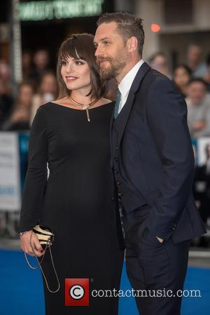 Charlotte Riley , Tom Hardy - 'Legend' UK film premiere held at the Odeon Leicester Square - Arrivals at Odeon...