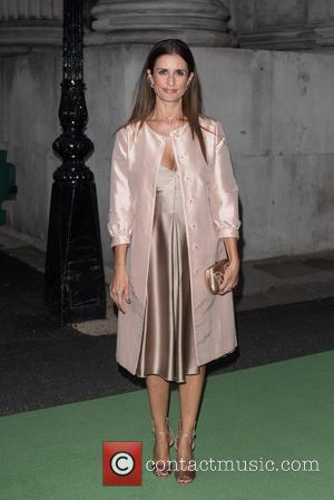 Livia Firth - The Sergio Rossi Green Carpet Collection - launch held at Wellington Arch - Arrivals. - London, United...