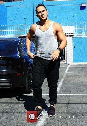 Carlos Pena - Celebrities at the 'Dancing With The Stars' rehearsal studios in Hollywood at Dancing With The Stars rehearsal...