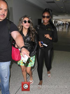 Fifth Harmony, Ally Brooke and Normani Hamilton