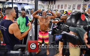 Wladimir Klitschko, Evander Holyfield, Shannon 'The Cannon' Briggs , Michael Moorer - Heavyweight Boxers Press Conference in advance of Heavyweight...
