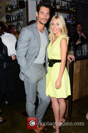 David Gandy , Mollie King - Marks and Spencers Autograph collaboration launch party held at Carousel London - Inside -...