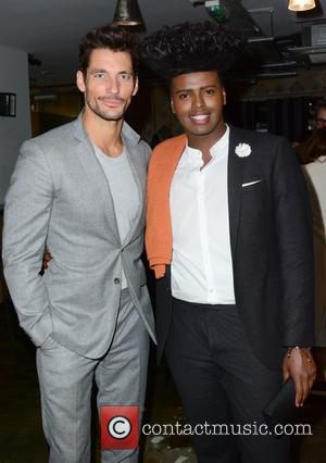 David Gandy , Prince Cassius - Marks and Spencers Autograph collaboration launch party held at Carousel London - Inside -...