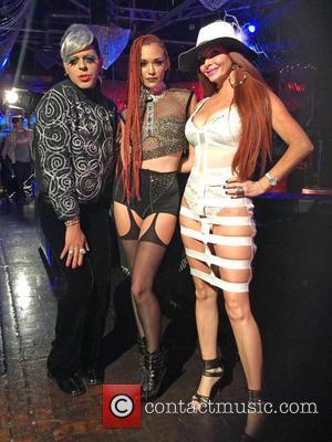 Phoebe Price, Jessica Sutta and Sham Ibrahim
