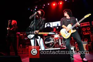 Rich Cole, Wally Palmar, Brad Elvis , Mike Skill - The Romantics performing at Hard Rock Live! in the Seminole...