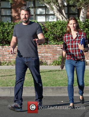 Jennifer Garner , Ben Affleck - Ben Affleck and Jennifer Garner arrive at a building in Santa Monica. The couple,...